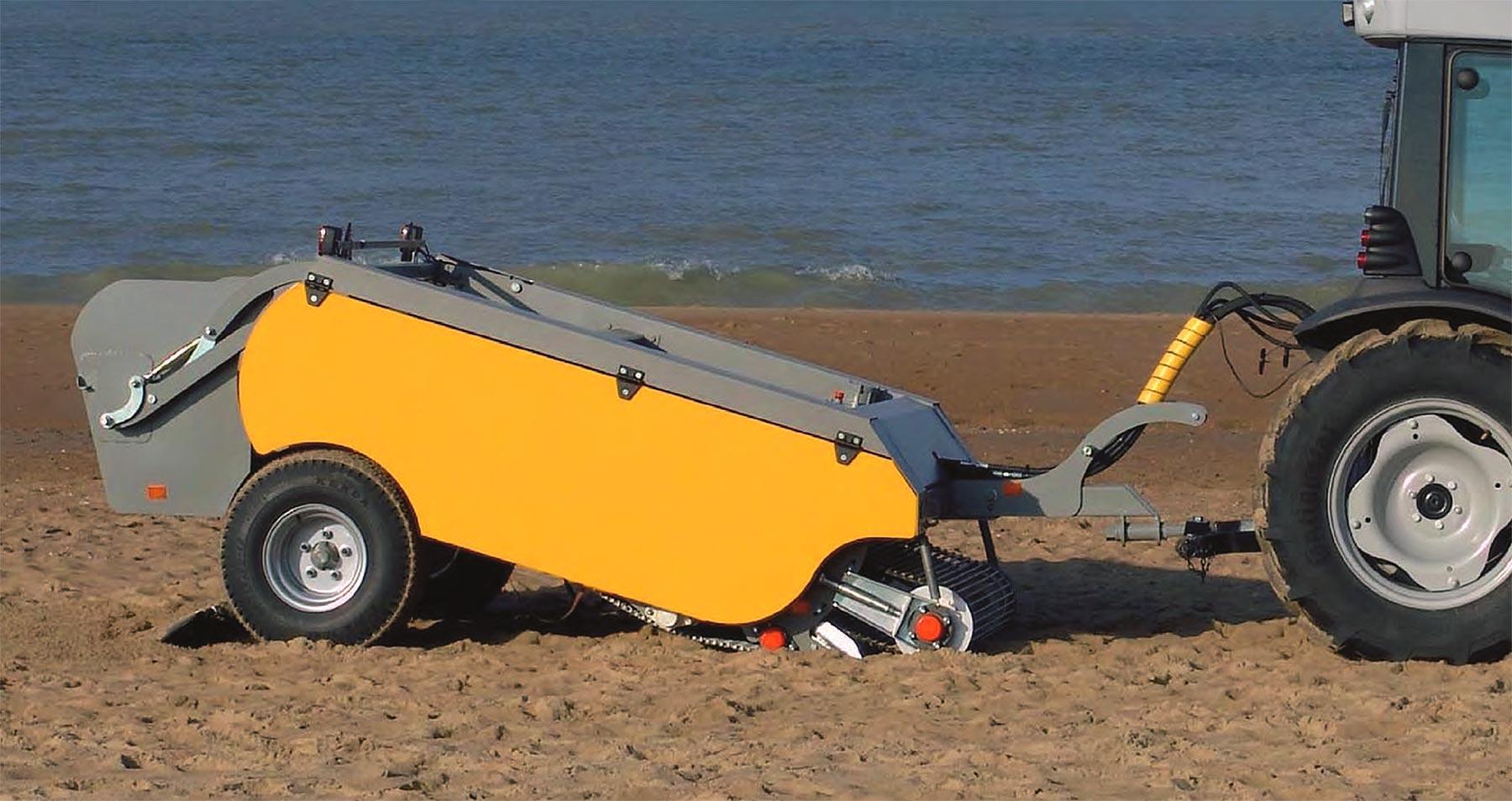 Soluciones limpieza y desinfección de playas