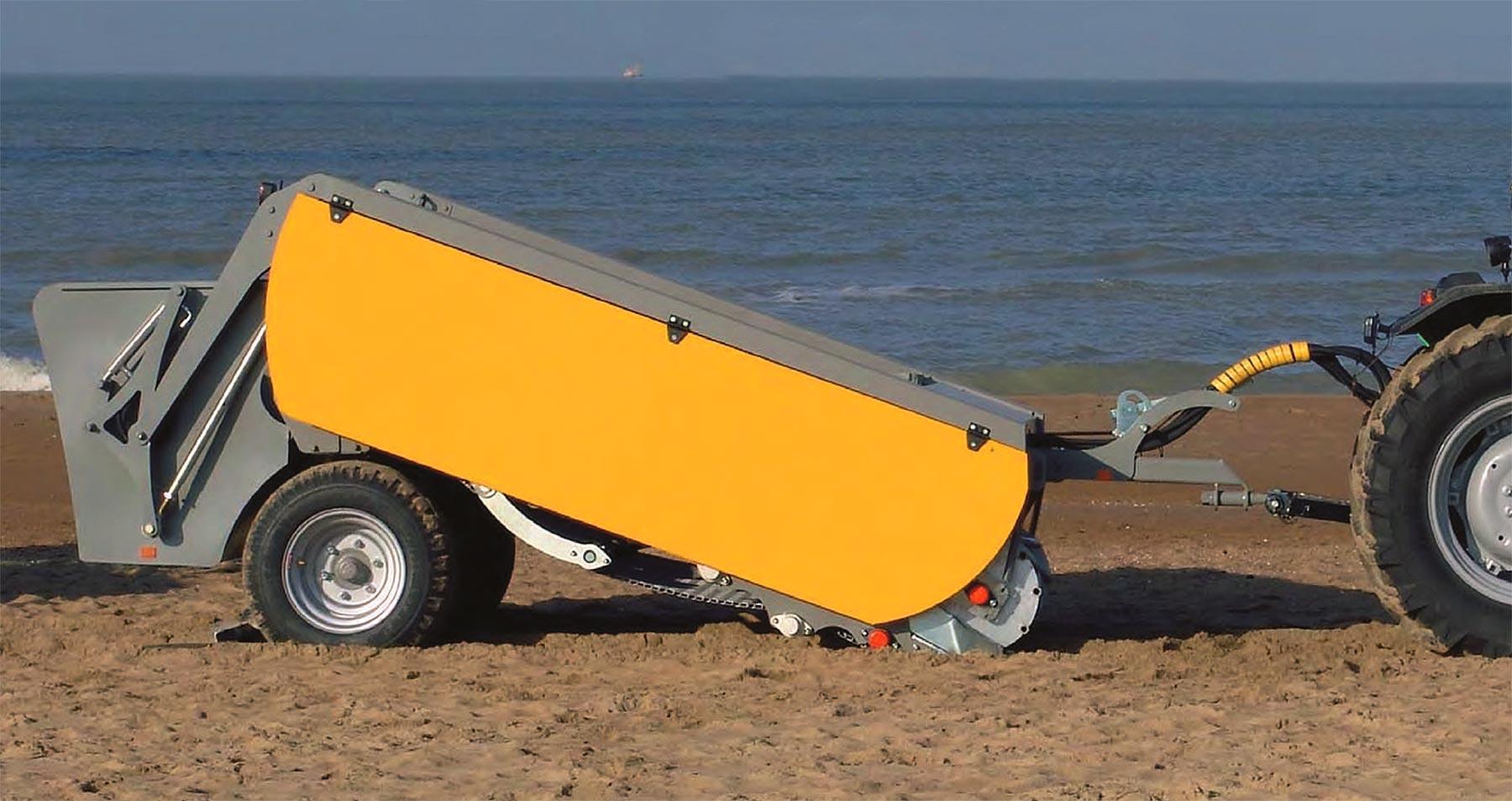 La mejor elección para limpieza y cuidado de playas BDS1900