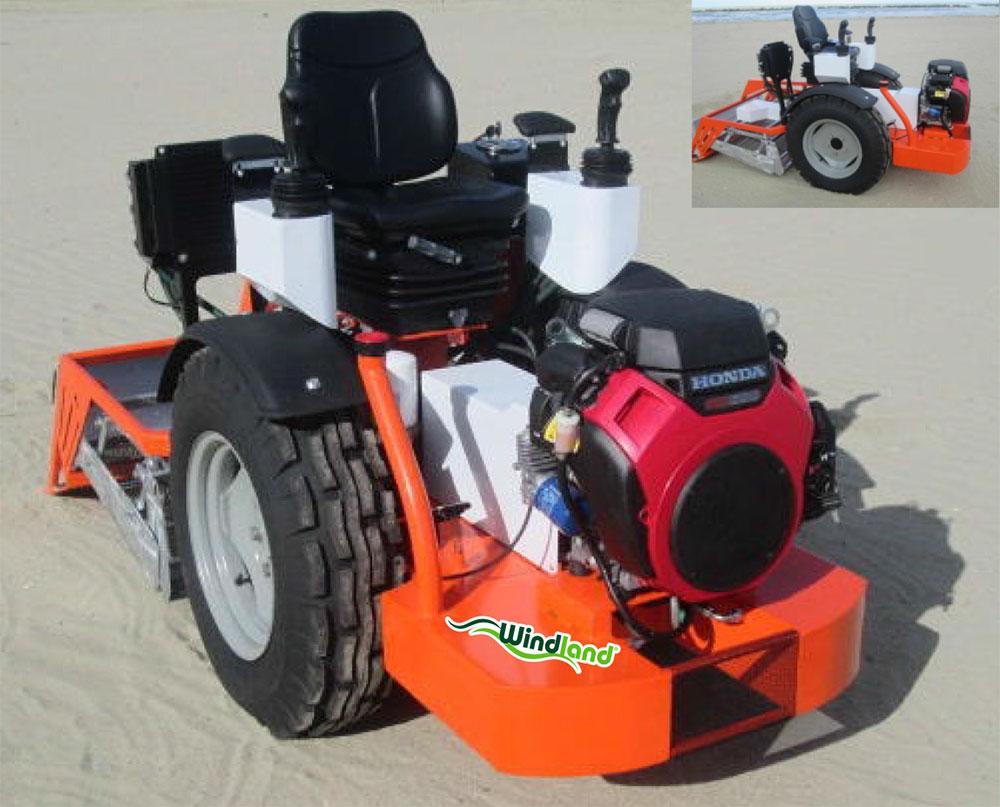 Máquina limpiaplayas y arenales BPN1050