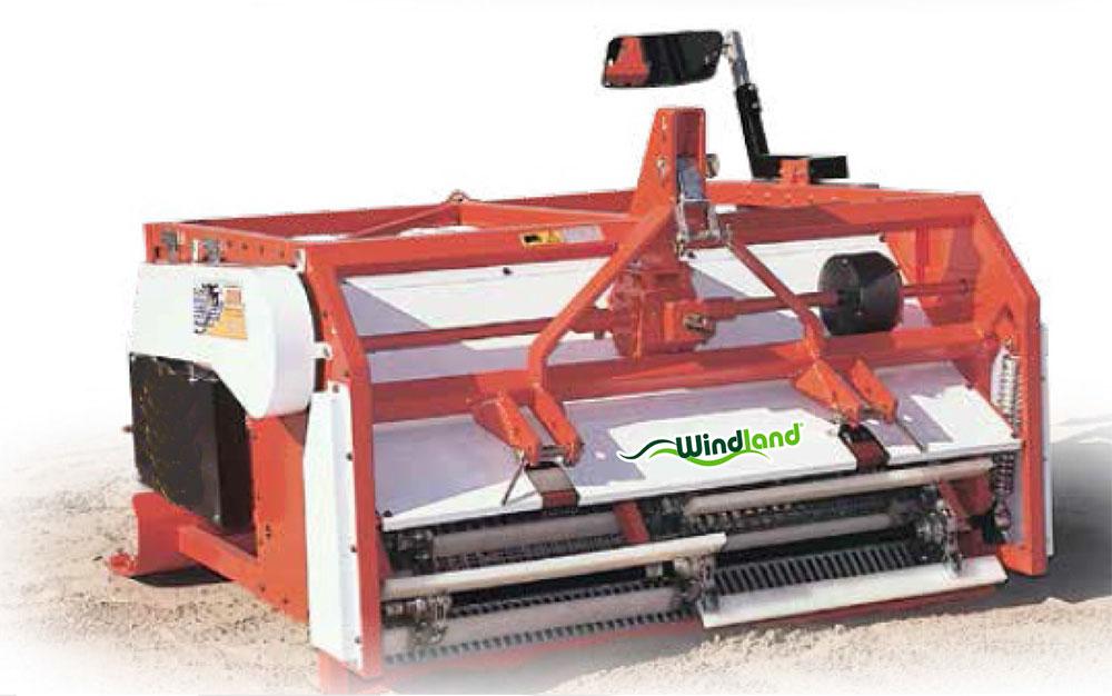 Máquina limpiaplayas y arenales BPOR1600
