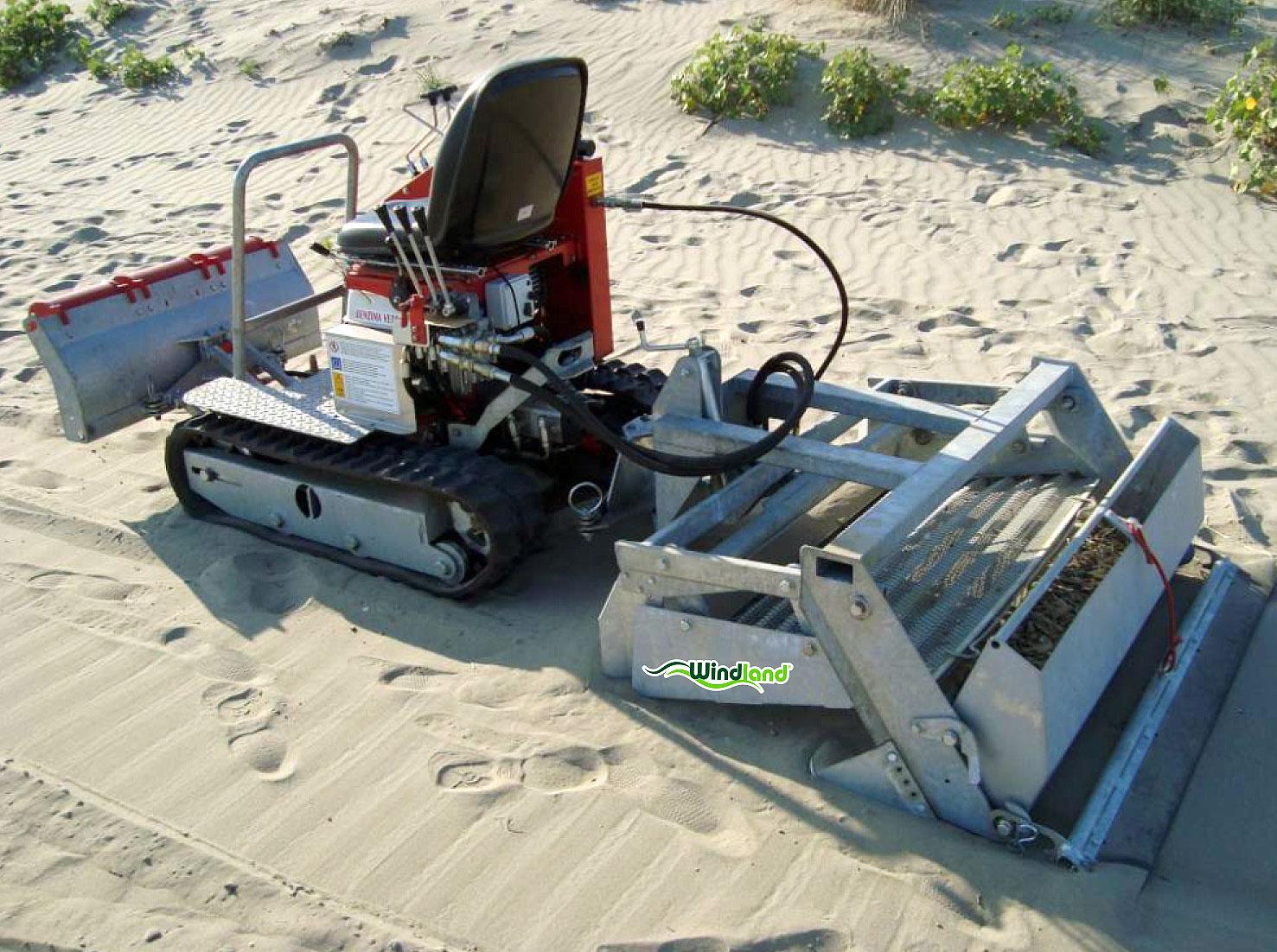Playas limpias con un limpiaplayas BZS110