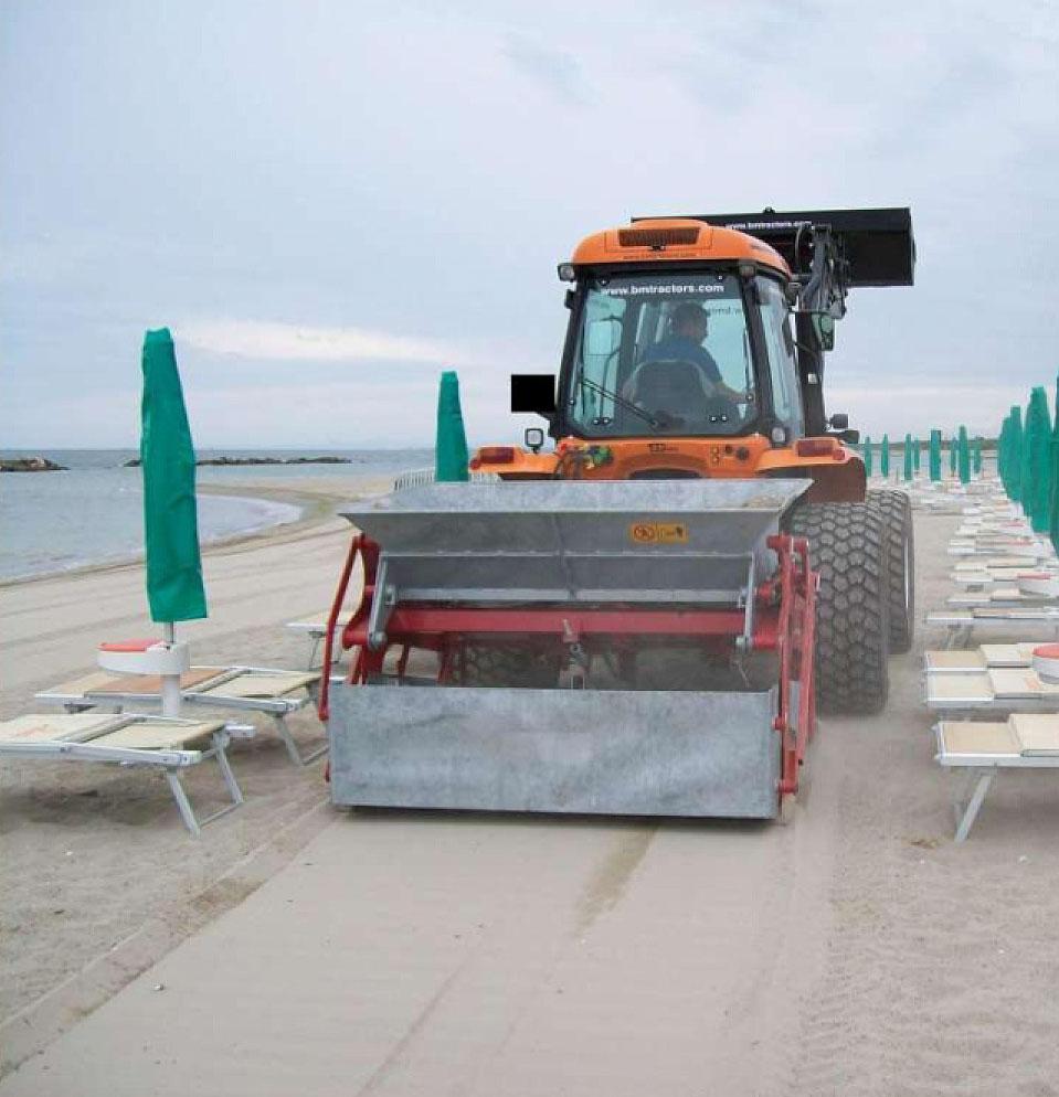 Limpiador de arenales BZS180